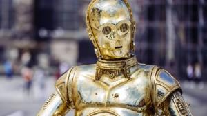 Würden Sie diesem Roboter Ihr Geld geben?