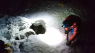 Deutscher Bergsteiger aus Felsspalt gerettet