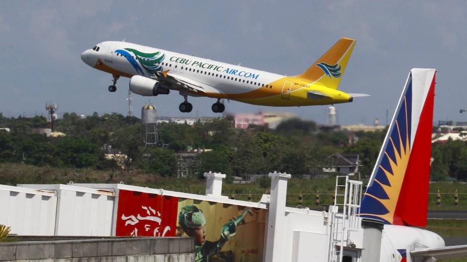 Vom Flughafen Manila wollte die Frau abfliegen (Symbolbild)