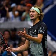 Mit Alexander Zverev verabschiedet sich der letzte Deutsche aus den Einzelwettbewerben der US Open.