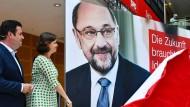 Schulz will SPD-Chef bleiben
