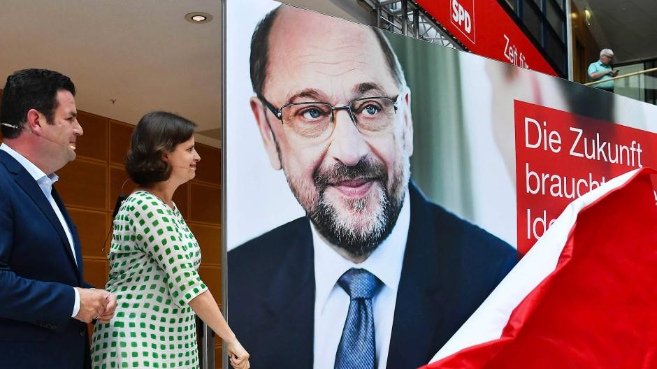 Martin Schulz will auch nach Niederlage SPD-Chef bleiben