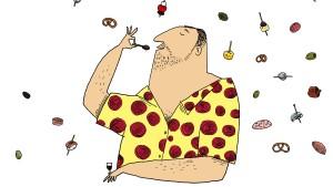 Chorizo vereint mit Käsespätzle