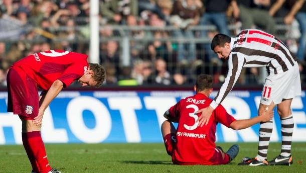 FSV Frankfurt verpasst Punkt auf St. Pauli