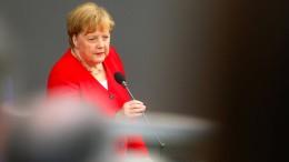 Abgeordnete fragen, Merkel antwortet