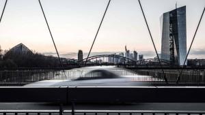 Wenig Verzerrung durch EZB-Anleihekäufe