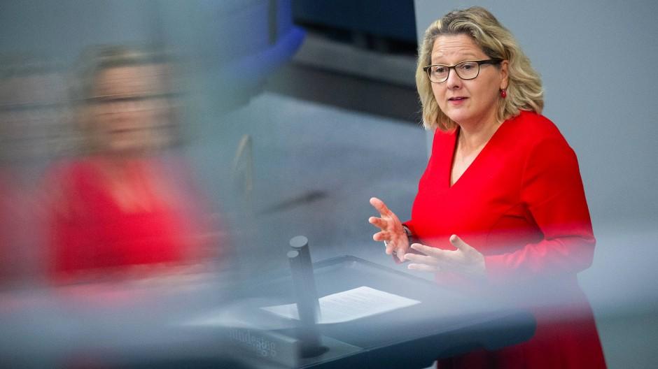Svenja Schulze (SPD), Bundesministerin für Umwelt