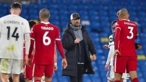 Liverpool verpasst Sprung auf Champions-League-Platz