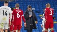 Hat den Sprung auf einen der Champions-League-Plätze verpasst: Jürgen Klopps FC Liverpool