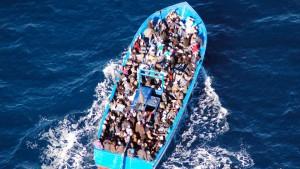 Dutzende Flüchtlinge ertrinken vor Libyen