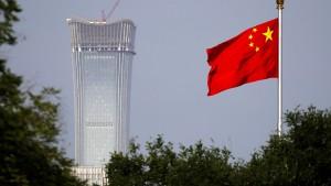 Ist China bald Großaktionär der Deutschen Bank?