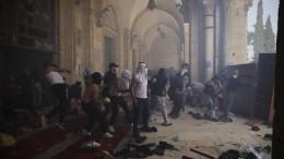 Gewalt in Jerusalem hält weiter an