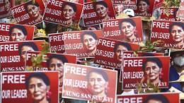 Die Zukunft ist nicht Aung San Suu Kyi