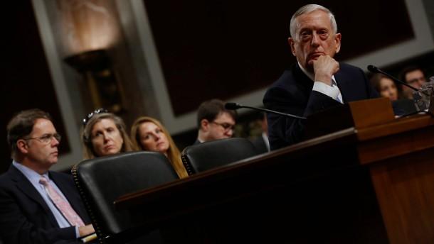 Auch Trumps designierter Verteidungsminister warnt vor Putin