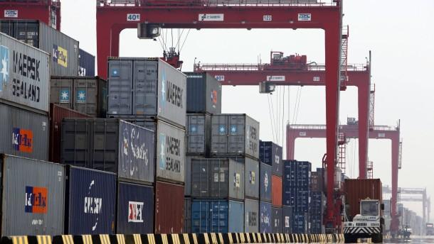 Chinas Außenhandel schwächelt weiter