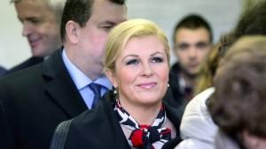 Erstmals Frau an der Spitze Kroatiens