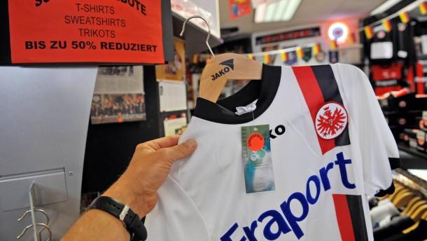 Zeitung: Fraport steigt als Hauptsponsor bei Eintracht Frankfurt aus