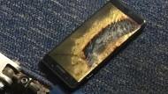 Brennende Smartphones werden für Samsung zum Albtraum