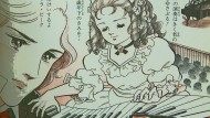 Die stolze Pianistin: Clara Schumann ist in der Düsseldorfer Ausstellung auch als Manga-Heldin zu sehen.