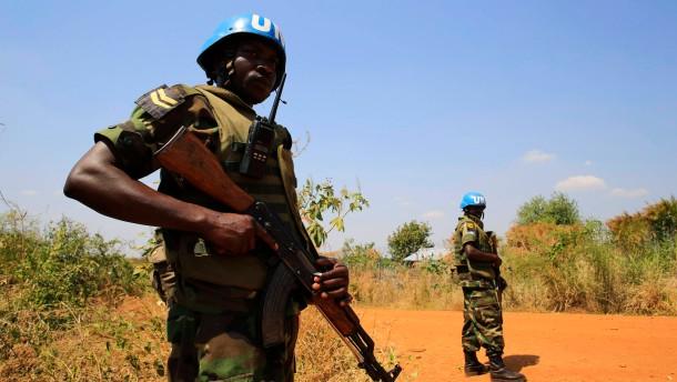 Vereinte Nationen schicken 5500 weitere Blauhelme