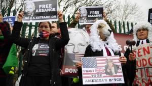 Gezerre um Assange