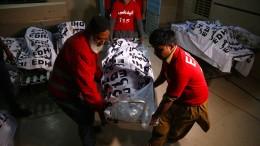 Dutzende Tote nach Busunglück