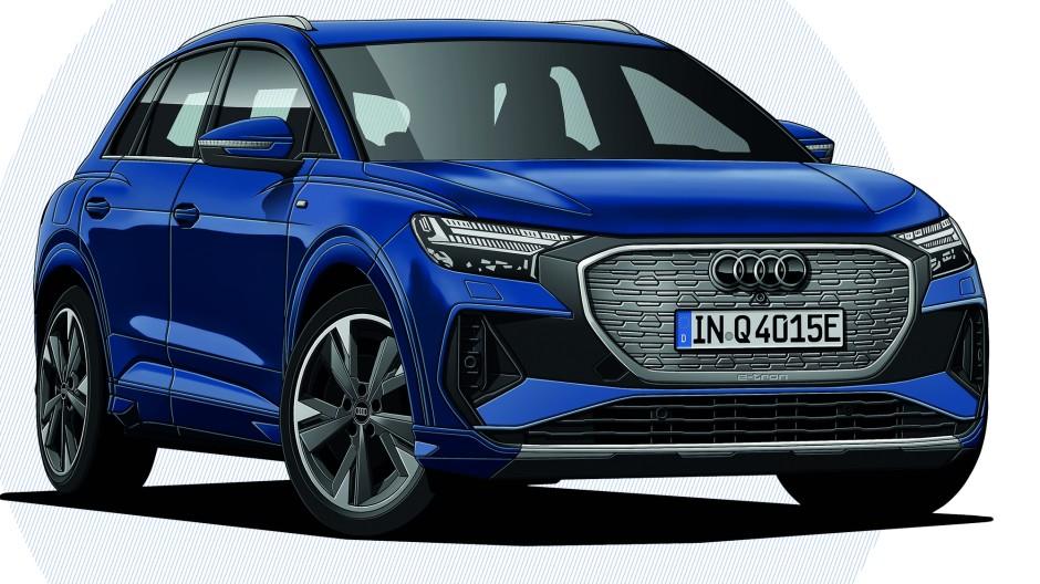 Audi Q4 40 e-tron 150 kW Advanced