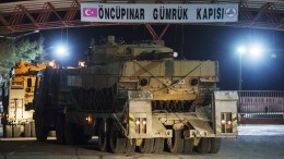 Türkei bombardiert kurdische Stellungen in Syrien