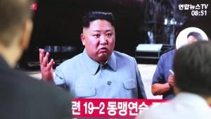 """Kim Jong-un bezeichnet Raketentests als """"Warnung"""" an Südkorea"""