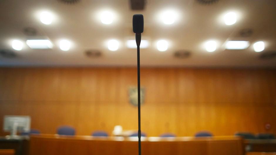 Saal im Landgericht Frankfurt: Hier beginnt im Mai ein wichtiger Cum-Ex-Prozess.