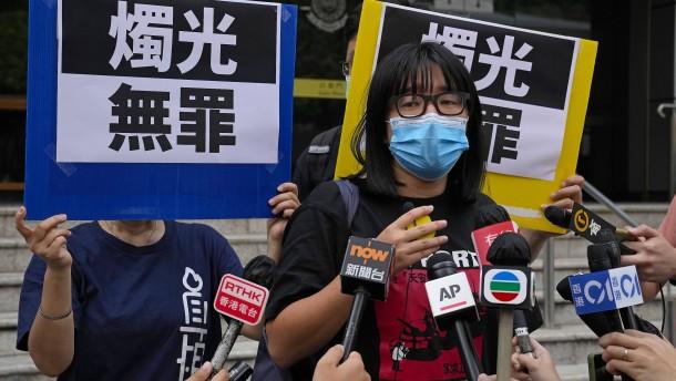 Organisatorin von Tiananmen-Mahnwache auf freiem Fuß
