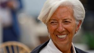 Lagarde reicht Rücktritt beim IWF ein