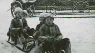 Frankfurter Alltagsleben im Winter 1937/38: Der Fotograf Sepp Jäger hat es festgehalten.
