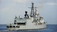 Fregatte Augsburg erreicht Persischen Golf