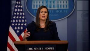 Trumps Aussage zu Polizeigewalt war angeblich ein Witz