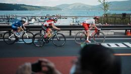 Großer Zuschauerandrang beim Straßenradrennen