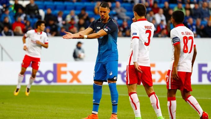 1:2 gegen Sporting Braga: Hoffenheim verpatzt Premiere