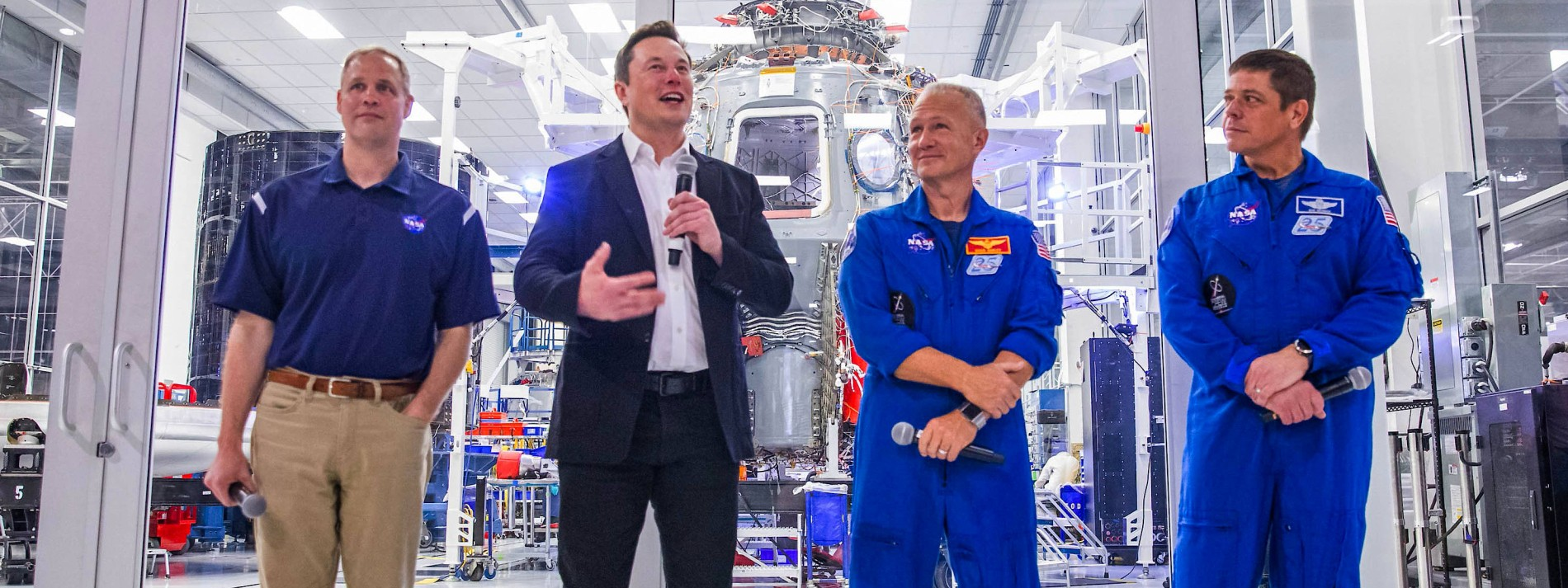 Start in die neue Welt der kommerziellen Raumfahrt