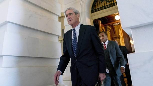 Mueller würde auch schriftliche Antworten Trumps akzeptieren