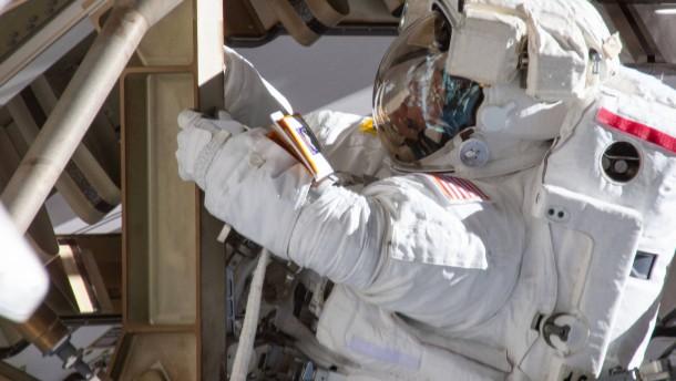 ISS bereit für den Notfall