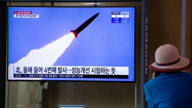 Nordkorea testet wiederholt Raketen