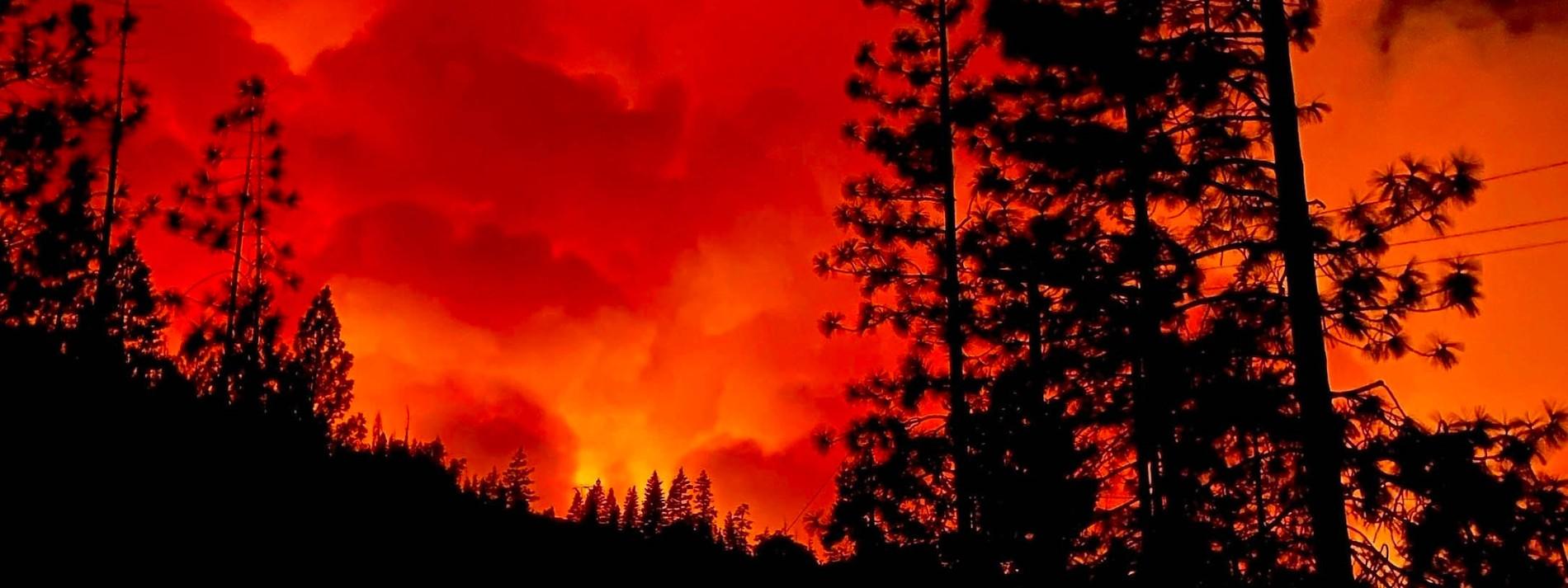 Rund tausend Menschen auf Campingplatz von Feuer eingeschlossen