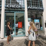 Filiale der Crédit Agricole in Nizza