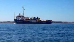 """""""Sea-Watch 3"""" trotz Verbot in italienische Gewässer"""
