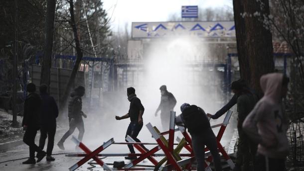 Frontex verstärkt Einheiten an griechisch-türkischer Grenze
