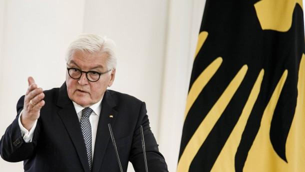 """Steinmeier verurteilt """"Gesprächsverhinderung"""""""