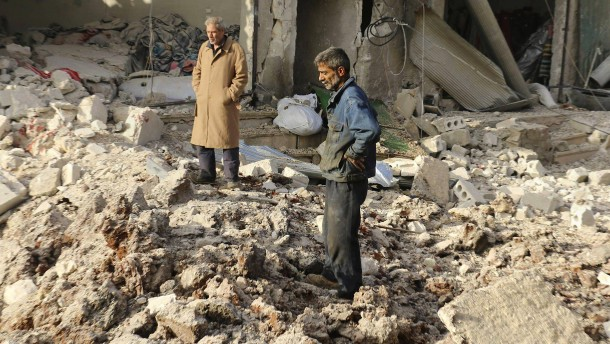Syrer sollen Farbe bekennen