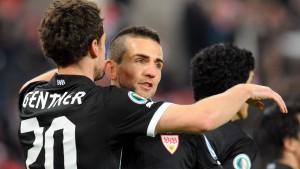 Stuttgart nutzt die Gunst des Loses
