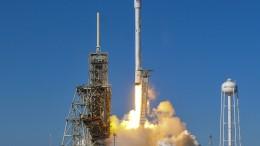 SpaceX-Rakete setzt südkoreanischen Satelliten ab