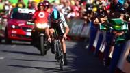 Christopher Froome: Der dreifache Gewinner der Tour de France gewinnt bei der Vuelta das Einzelzeitfahren.